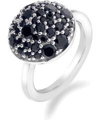 Hot Diamonds Prsten Emozioni Laghetto Bouquet Black ER010