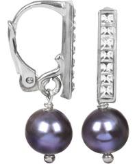 JwL Jewellery Dámské náušnice s perlou JL0077