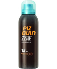Piz Buin Chladivá pěna na opalování SPF 15 Protect & Cool (Refreshing Sun Mouss) 150 ml
