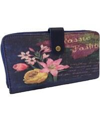 Candy Flowers Elegantní peněženka Classic Fashion 701-014