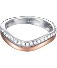 Esprit Stříbrný prsten Brilliance ESPRIT-JW50012 Bicolor