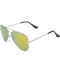 Meatfly Sluneční brýle Tomcat B - Silver/Gold