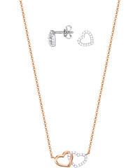 Esprit Stříbrný set náhrdelníku a náušnic ESPRIT-JW50025 Bicolor