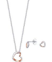 Esprit Stříbrná sada náhrdelníku a náušnic ESPRIT-JW50023 Bicolor