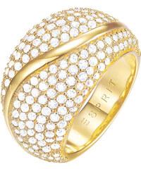 Esprit Třpytivý pozlacený prsten ESPRIT-JW50054 Gold