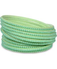 Troli Náramek Wrap Matte Powder Green