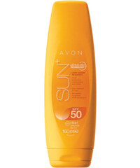 Avon Hydratační voděodolné tělové mléko na opalování s antioxidanty SPF 50 Sun+ 150 ml - SLEVA - prasklé víčko