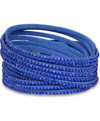 Troli Náramek Wrap Matte Blue