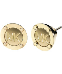 Michael Kors Pozlacené luxusní náušnice s logem MKJ1666710