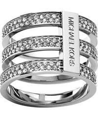 Michael Kors Třířadý prsten s krystaly MKJ3782040