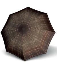 Doppler Dámský skládací mechanický deštník Fiber Havanna Milito hnědý 722365ML02