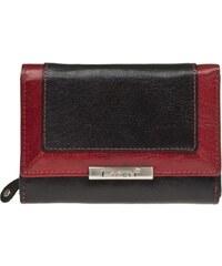 Lagen Dámská kožená peněženka Black/Red LN/1496/1213