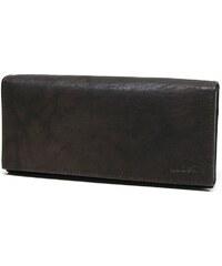 Lagen Dámská hnědá kožená peněženka V-25 Brown