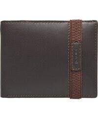 Lagen Pánská hnědá kožená peněženka Brown 61178