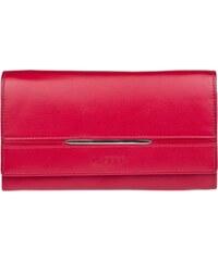 Lagen Dámská červená kožená peněženka Red 9530