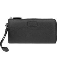 Lagen Dámská černá kožená peněženka Black 11228