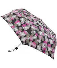 Fulton Dámský skládací mechanický deštník Superslim 2 Falling Feathers L553