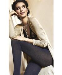 Gatta Tmavě modré dámské punčochové kalhoty Up&Go! 14 Mood Indigo