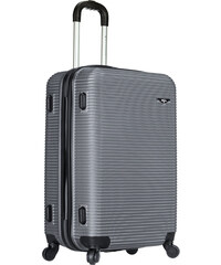 Azure Cestovní kufr SIROCCO 105L T-1039/3-70 stříbrná