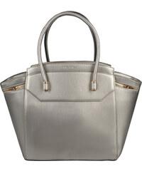 David Jones Elegantní stříbrná kabelka Gold CM2822-1