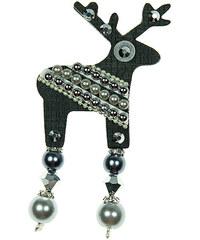 Deers Malý černý jelínek Blackie