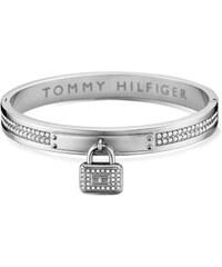 Tommy Hilfiger Pevný ocelový náramek se zámečkem TH2700709