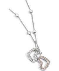 Morellato Ocelový náhrdelník se srdíčky Abbraccio SABG04