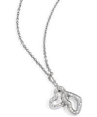 Morellato Ocelový náhrdelník se srdíčky Abbraccio SABG05