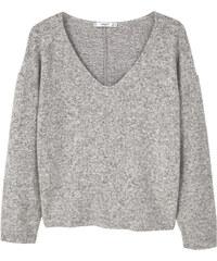 MANGO Melierter Pullover