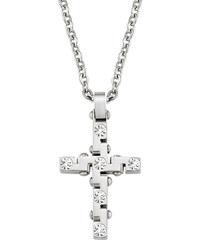 Morellato Pánský náhrdelník s křížem Motown SAEV03