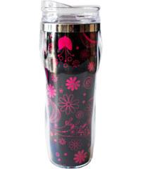 Albi Termohrnek s růžovými květy 0,3l