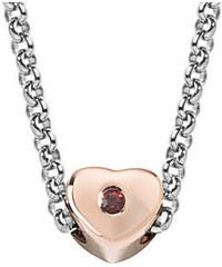 Morellato Ocelový bicolor náhrdelník Drops Heart SCZ461