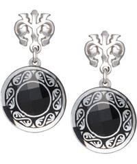 Preciosa Náušnice Magical Ornament černé 6029 20