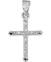 Selilya Silver Stříbrný přívěsek křížek SPJ07