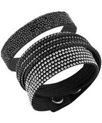 Swarovski Sada černých náramků Leisure 5184505