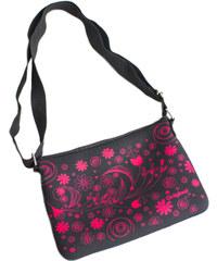 Albi Crossbody taška s růžovými květy