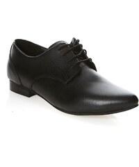 l'Atelier des Chaussures Derbies - denimschwarz