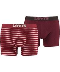 Levi's Underwear 2-er Set Boxershorts - bordeauxrot