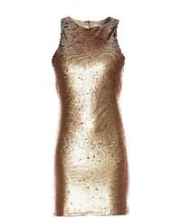 Glamorous Kleid mit kurzem Schnitt - goldfarben