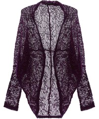 Sisley Young Strickjacke - violett