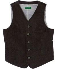 Benetton Gilet de costume - gris