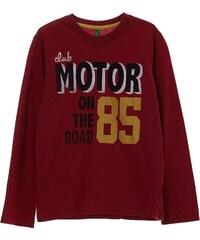 Benetton T-shirt à manches longues en coton - rouge