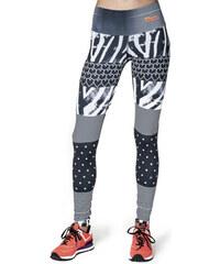 Horsefeathers Sportovní legíny Rhythm Leggings Zebra SW579A