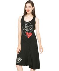 Desigual Dámské šaty Alexandra Negro 61V20W6 2000