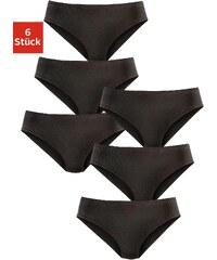 Große Größen: Petite Fleur Jazzpants (6 Stück), 6x schwarz, Gr.34-52