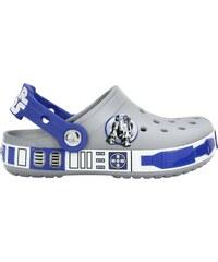 Crocs Dětské pantofle Star Wars R2D2 Clog Light Grey/Cerulean Blue 16277-0Y7