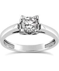 Silvego Stříbrný prsten RENNIE se Swarovski Zirconia DMSR120