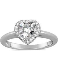 Silvego Stříbrný prsten s micro zirconia JJJR0103
