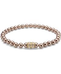 Oliver Weber Luxusní náhrdelník z perel Swarovski Lucent 11619 BEI