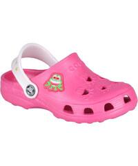 Coqui Dětské pantofle Little Frog 8701 Melone/Pearl 100952
